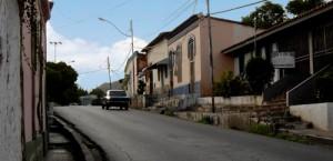 Calle Guevara. Sector La Bajaíta de Carías