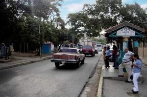 Calle Principal. Sector Los Andes.