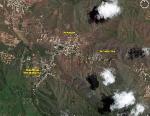 La Isla de Margarita y el valle de Tacarigua vistos desde el espacio - FOTO NASA1